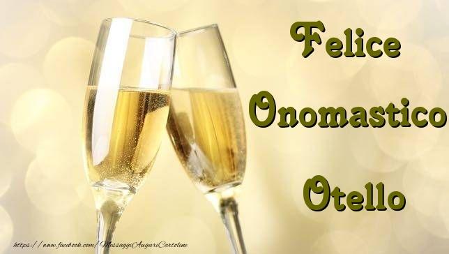 Cartoline di onomastico - Felice Onomastico Otello