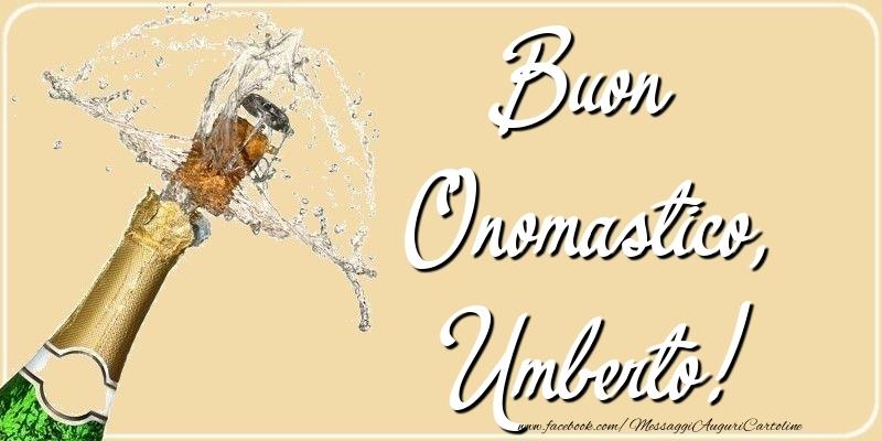 Cartoline di onomastico - Buon Onomastico, Umberto