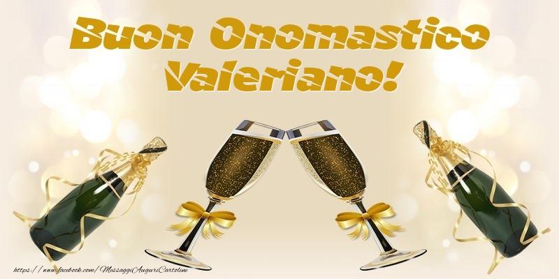 Cartoline di onomastico - Buon Onomastico Valeriano!