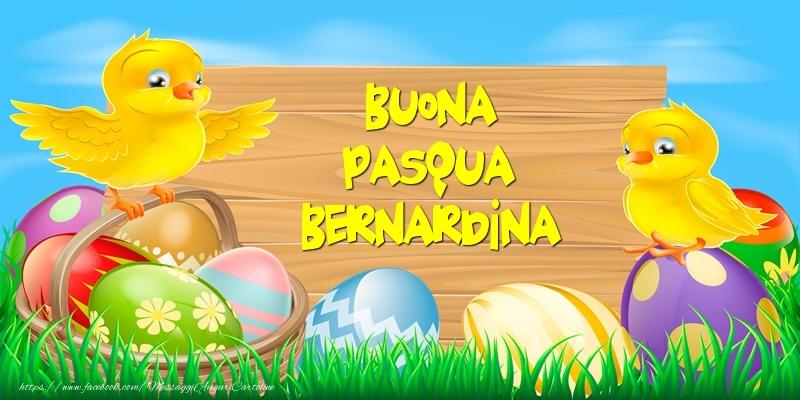 Cartoline di Pasqua - Buona Pasqua Bernardina!