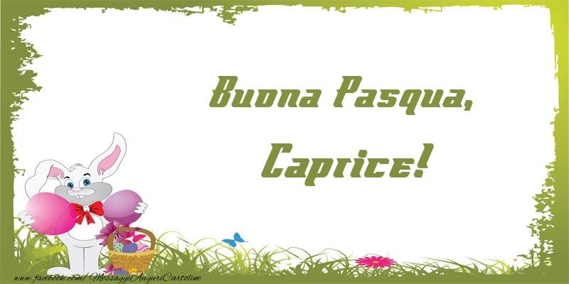 Cartoline di Pasqua - Buona Pasqua, Caprice!