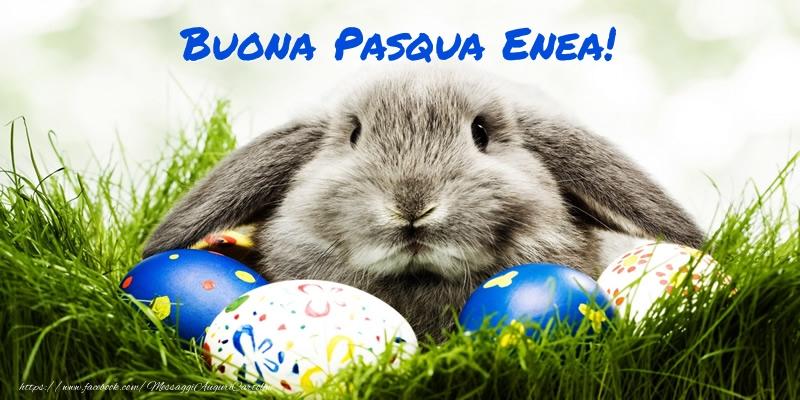 Cartoline di Pasqua - Buona Pasqua Enea!