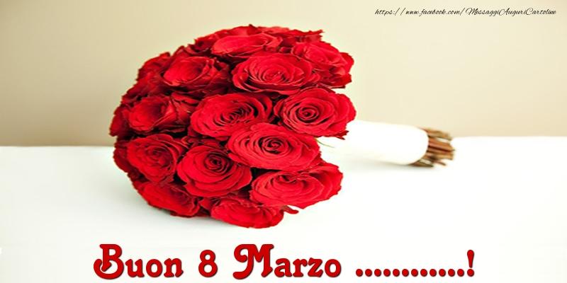 Cartoline personalizzate di 8 Marzo - Buon 8 Marzo ...!