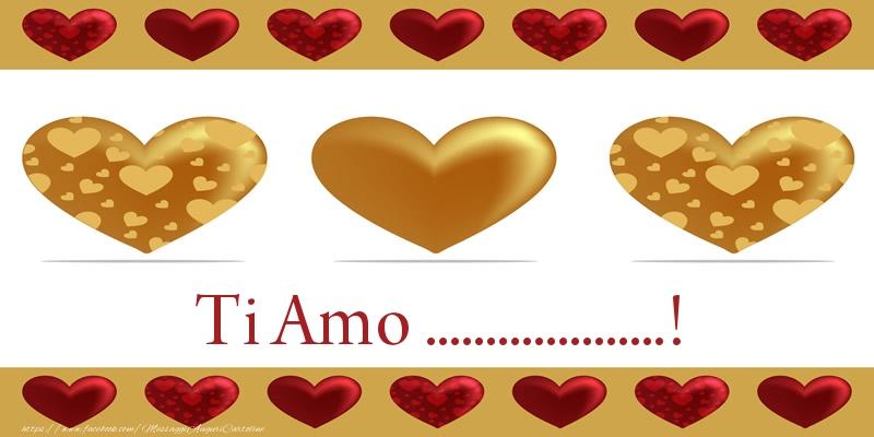 Cartoline personalizzate d'amore - Ti Amo ...!