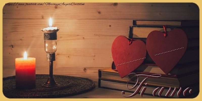 Cartoline personalizzate d'amore - Ti amo ... ...