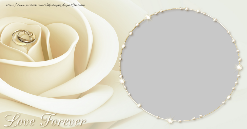 Cartoline personalizzate d'amore - Love forever