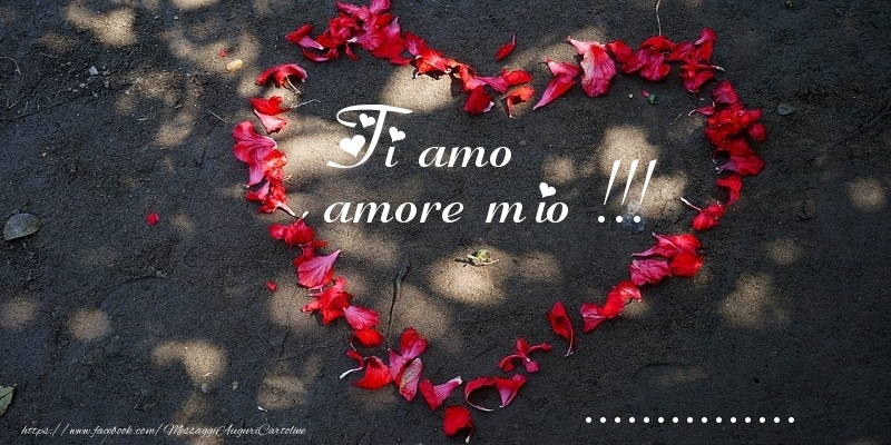 Cartoline personalizzate d'amore - Ti amo amore mio !!! ...