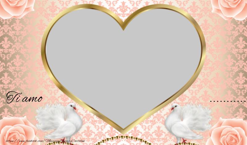 Cartoline personalizzate d'amore - amore mio