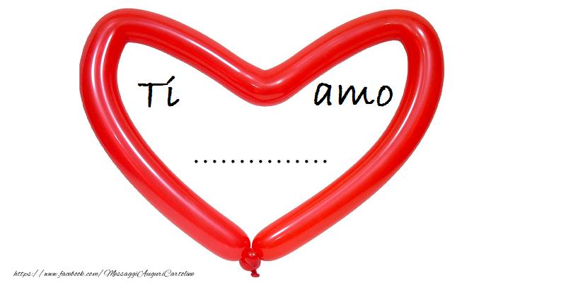 Cartoline personalizzate d'amore - ...!