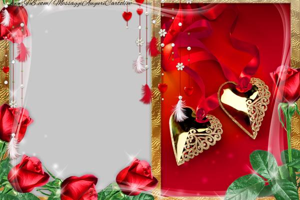 Cartoline personalizzate d'amore - Ti amo!
