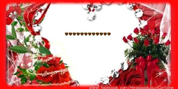 Cartoline personalizzate d'amore - Love ...!