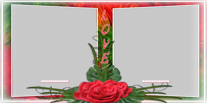 Cartoline personalizzate d'amore - ... Love ...