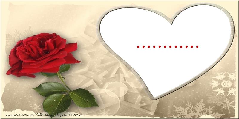 Cartoline personalizzate d'amore - Love ...