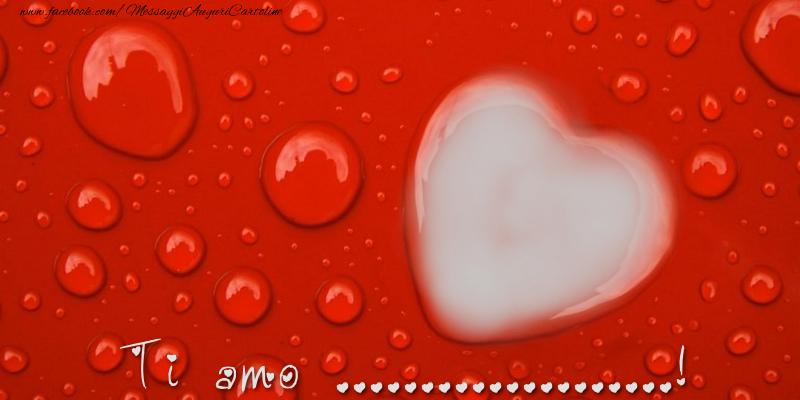 Cartoline personalizzate d'amore - I love ...!