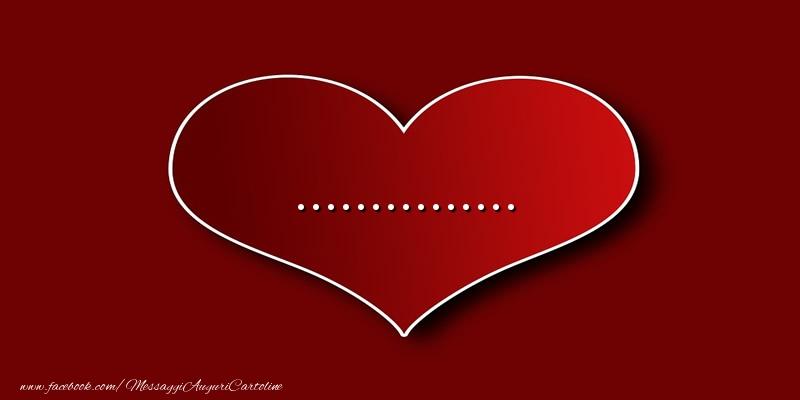 Cartoline personalizzate d'amore - Amore ...