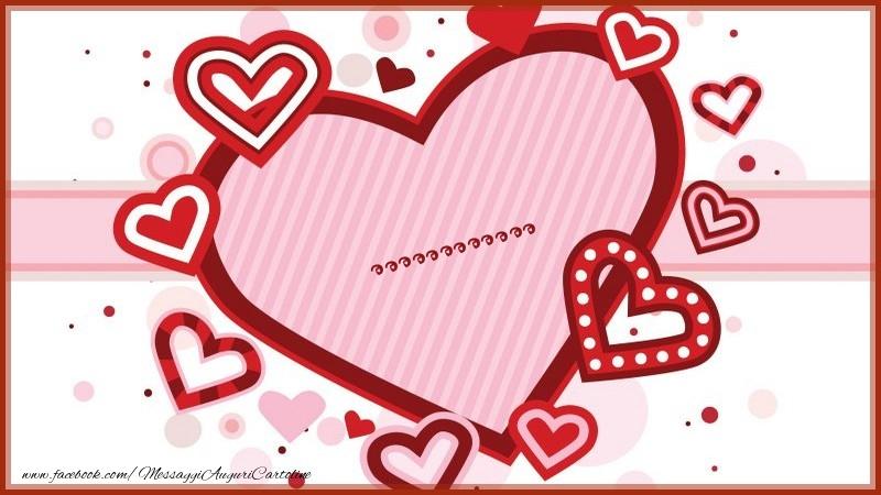 Cartoline personalizzate d'amore - ...