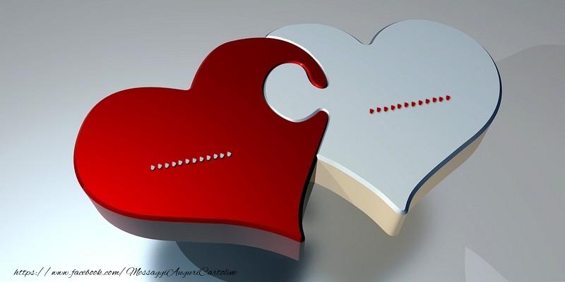 Cartoline personalizzate d'amore - ... ...