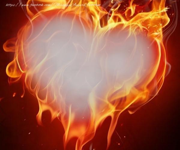 Cartoline personalizzate d'amore - Cornice fotografica