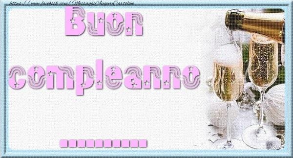 Cartoline personalizzate di auguri - Buon compleanno ...