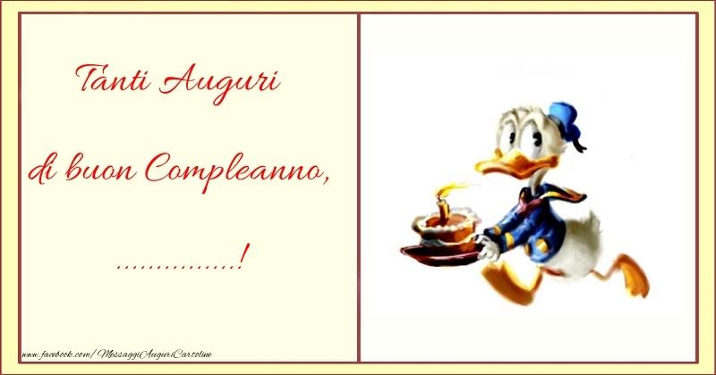 Cartoline personalizzate per bambini - Tanti Auguri di buon Compleanno, ...