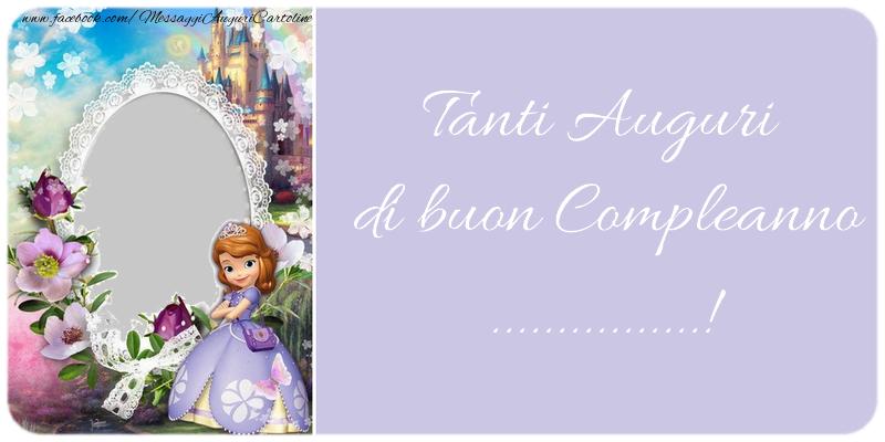 Cartoline personalizzate per bambini - Tanti Auguri di buon Compleanno, ...!