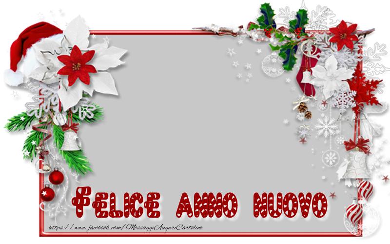 Cartoline personalizzate di Buon Anno - Felice anno nuovo