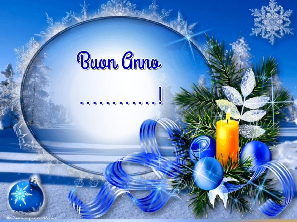 Cartoline personalizzate di Buon Anno - Buon Anno ...!