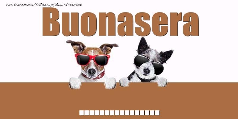 Cartoline personalizzate di buonasera - Buonasera ...