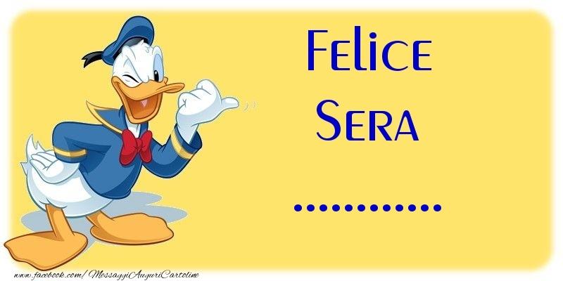 Cartoline personalizzate di buonasera - Felice Sera ...