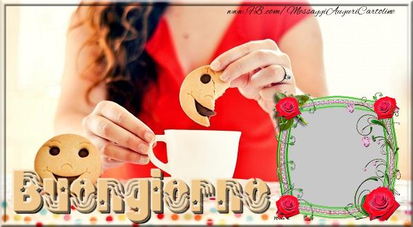 Cartoline personalizzate di buongiorno - Buongiorno