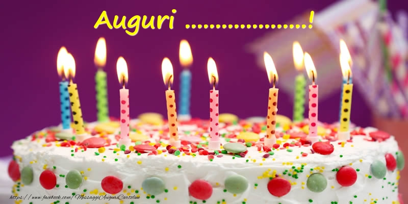Cartoline personalizzate di compleanno - Auguri ...!