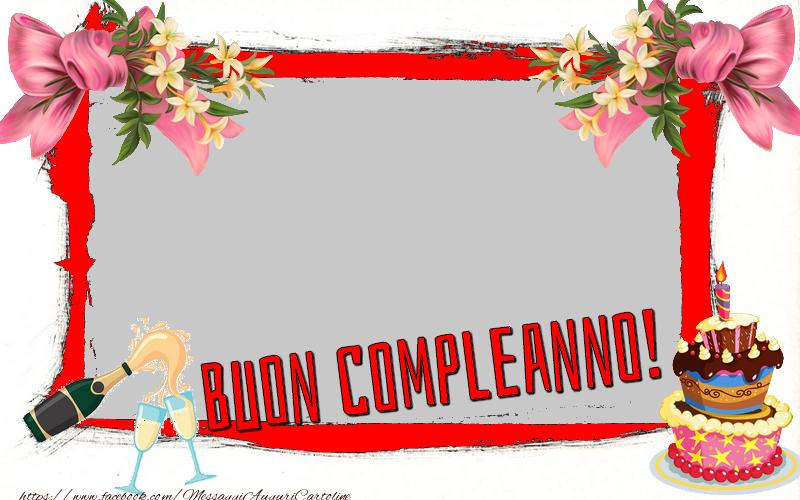 Cartoline personalizzate di compleanno - Buon compleanno