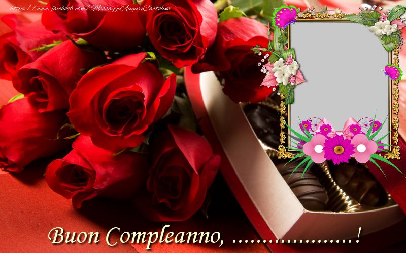 Cartoline personalizzate di compleanno - Buon Compleanno ...!