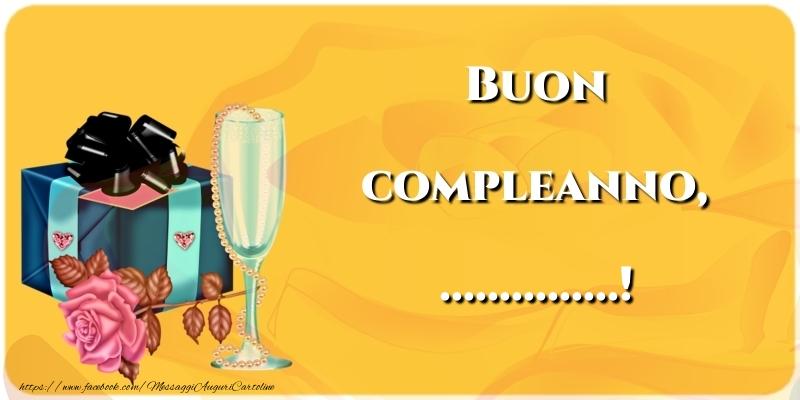 Cartoline personalizzate di compleanno - Buon compleanno, ...