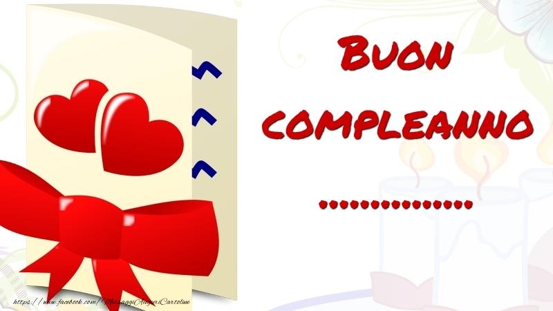 Cartoline personalizzate di compleanno - Buon compleanno ...