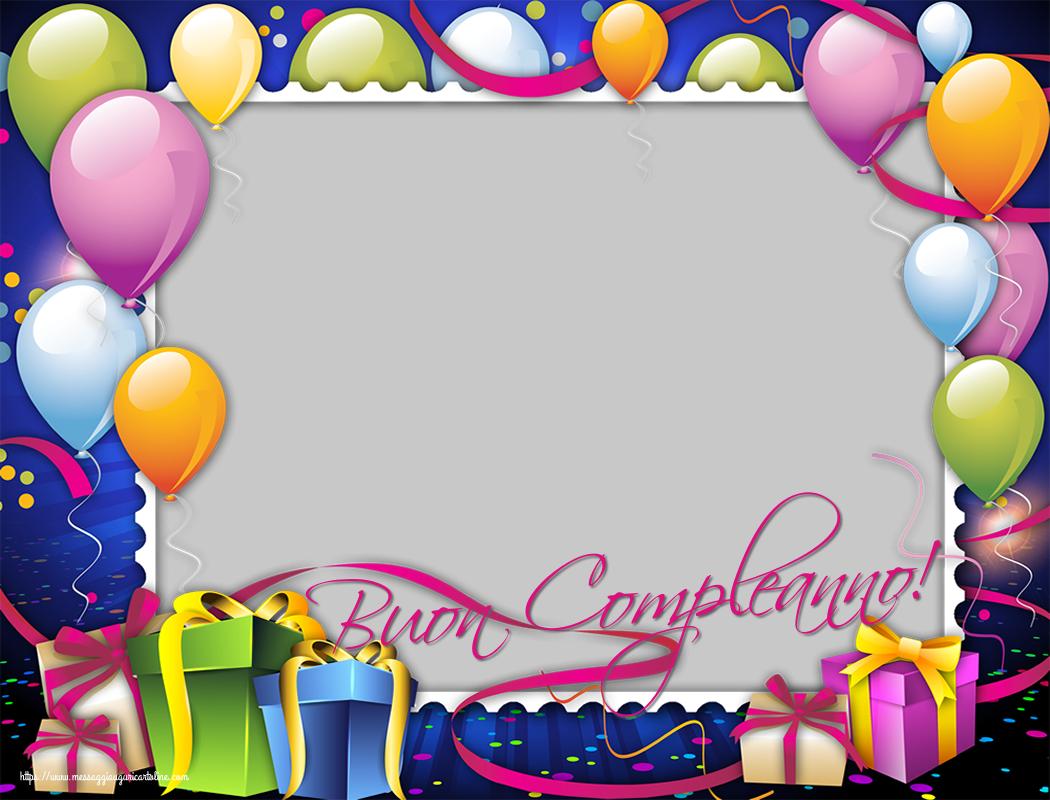 Cartoline personalizzate di compleanno - Buon Compleanno!