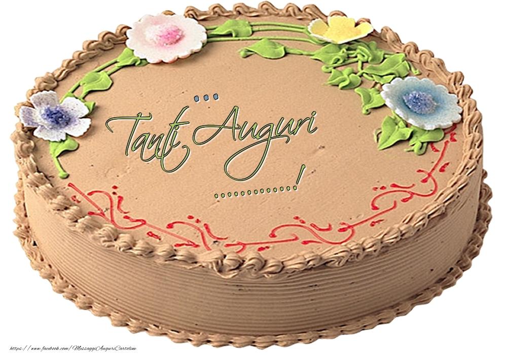 Cartoline personalizzate di compleanno - ... - Tanti Auguri ...!