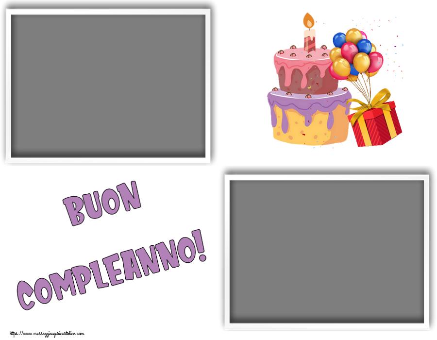 Cartoline personalizzate di compleanno - Buon Compleanno! - Cornice foto
