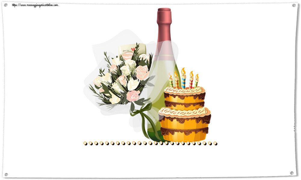 Cartoline personalizzate di compleanno - ...