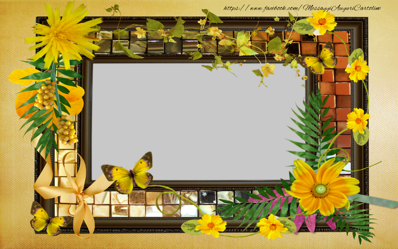 Cartoline personalizzate con foto - Cornice fotografica