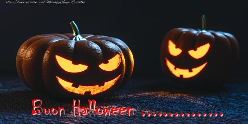 Cartoline personalizzate di Halloween - Buon Halloween