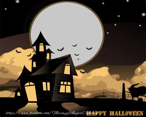 Cartoline personalizzate di Halloween - Happy Halloween!