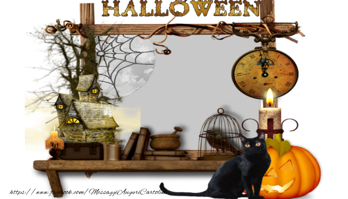 Cartoline personalizzate di Halloween - Halloween