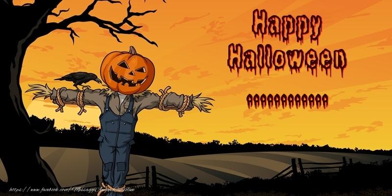 Cartoline personalizzate di Halloween - Happy Halloween ...!