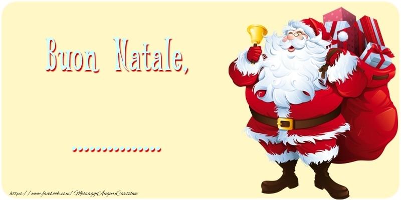Cartoline personalizzate di Natale - Buon Natale, ...