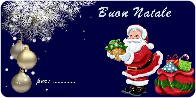 Cartoline personalizzate di Natale - Buon Natale ...