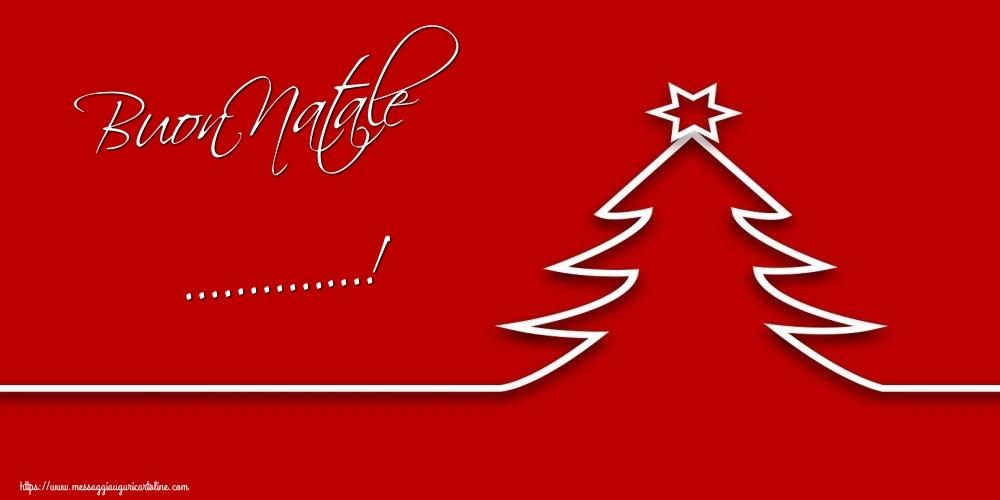Cartoline personalizzate di Natale - Buon Natale ...!