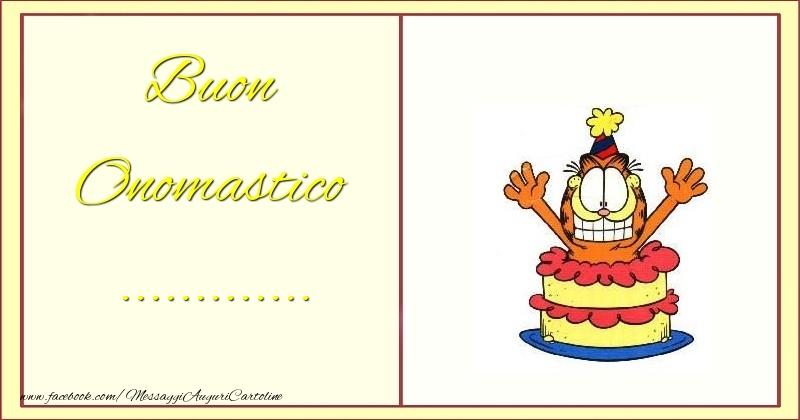 Cartoline personalizzate di onomastico - Buon Onomastico ...
