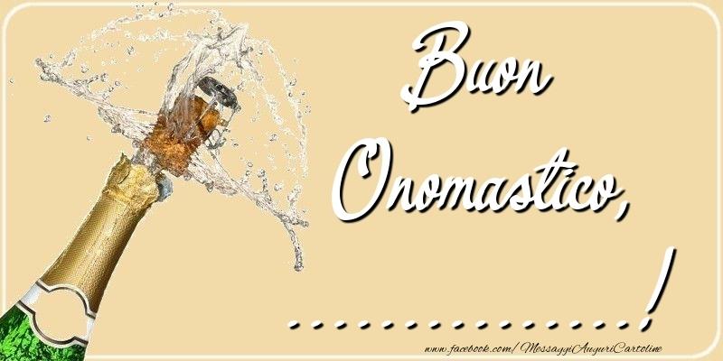 Cartoline personalizzate di onomastico - Buon Onomastico, ...