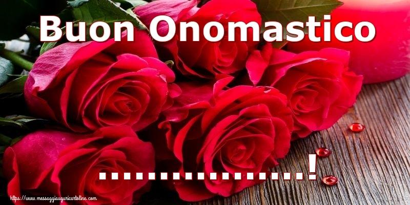 Cartoline personalizzate di onomastico - Buon Onomastico ...!